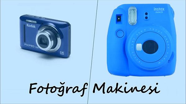 14 Şubat Hediye önerileri Erkekler için fotoğraf makinesi