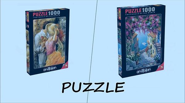 14 Şubat Hediye önerileri Erkekler için puzzle