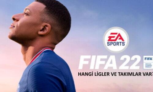 FIFA 22 hangi ligler var? FIFA 22'de Türkiye Ligi var mı?
