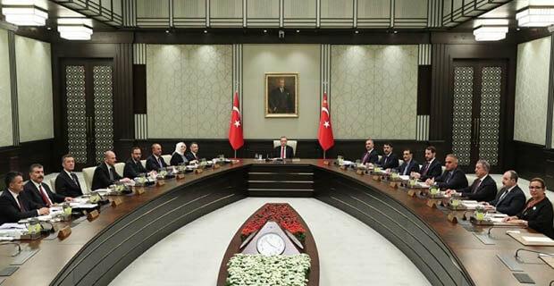 Kabine Toplantısı Kararları Neler?