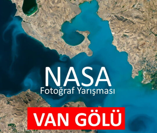 Van Gölü Fotoğrafı, NASA'nın Fotoğraf Yarışmasında Yarı Finalde