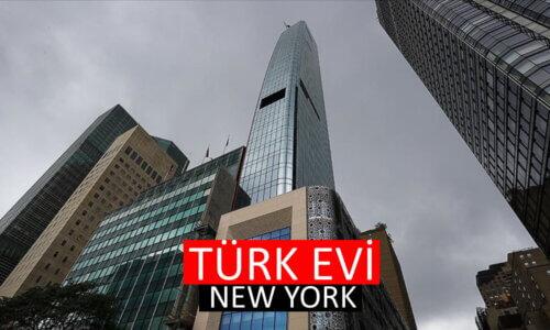 Türk Evi Binası Açılışı New York Türk Evi Gökdeleni Amerika