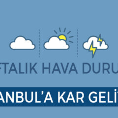 Bu Hafta Havalar Nasıl Olacak?