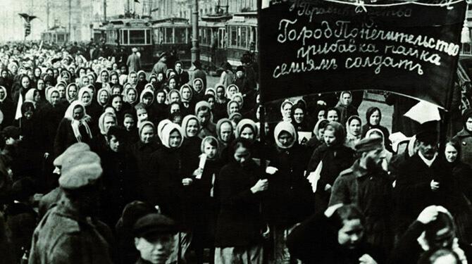Dünya Kadınlar Günü Rusya