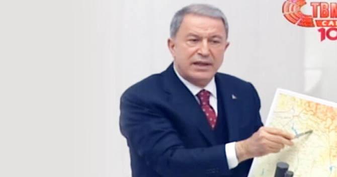 Hulusi Akar Gara operasyonlarının detaylarını Meclis'te anlattı