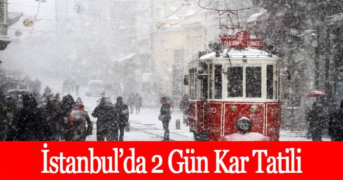 Kar Tatili olan İller İstanbul Kar Tatili