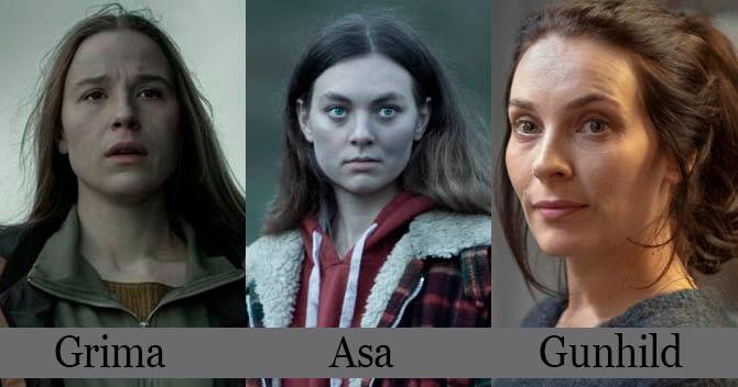 Katla Dizisi Oyuncuları Grima Asa Gunhild