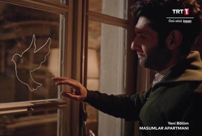 Masumlar apartmanı şiir Yüreğinden beyaz kuşlar uçardı yüreğime