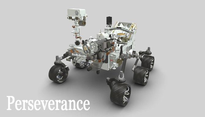 Nasa Perseverance uzay aracı