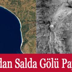 Nasa Salda Gölü Mars Yüzeyi