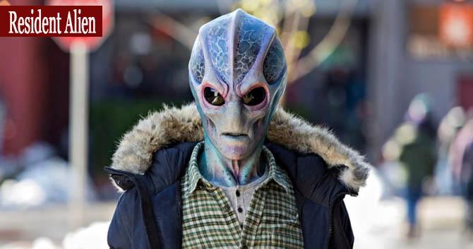 Yabancı Dizi Önerileri 2021 Resident Alien